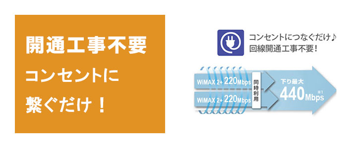 WiMAX,uq,レンタル,無制限,L01