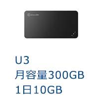 ポケットwifiU3ご案内画像,レンタルwifi,月容量300GB,リセット可能